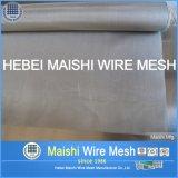 Técnica tecida e engranzamento de fio material inoxidável do aço inoxidável do fio de aço