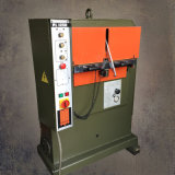 Herbouwde het In reliëf maken van het Leer van het Atoom van Italië Hydraulische Machine (PL1250)