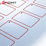 PVCスマートカード/タグ生産カスタムサイズRFIDインレイのための