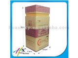 Rectángulo de empaquetado del vino de la cartulina del regalo magnético rígido de lujo de encargo del encierro