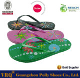 Lady barato Rubber Flip Flop Promotional en Wholesale