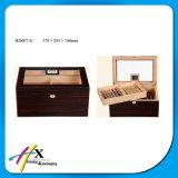 Erfinderische Luftfeuchtigkeitsregler Cedarwood Zigarrenschachtel mit Teiler