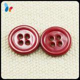 Nature colorée de petite taille Shell rond cousant le bouton avec deux trous