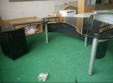 Tableau en verre Yf-12005t de bureau de type moderne
