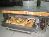 Печь хлебопекарни пиццы хлеба популярных модельных двойных подносов палубы 2 электрическая для сбывания