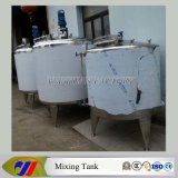 El tanque de mezcla barato de la calefacción de vapor de la capacidad 1t
