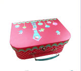 Cheaper Price를 가진 최신 Sale Paper Suitcase Shape Lunch Box