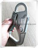 Крюк предохранения от G7151 падения двойной фиксируя щелчковый