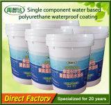 Enduit imperméable à l'eau de polyuréthane coloré par composant simple