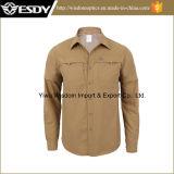 2016年のEsdy新しい設計されていたQuick-Dry Long&Shortの袖のワイシャツ