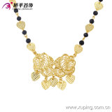 Copper Alloy Without에 있는 42756의 형식 금 Plated Delicate Women Jewelry Necklace Stone 없음