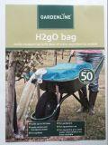 Saco de água patenteado do saco do uso H2go do jardim do produto comestível 80L