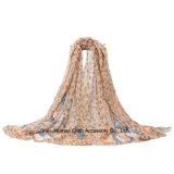 Leichte Polyester-Basisrecheneinheit gedruckter langer Schal