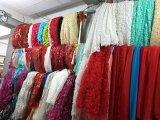 Мантии венчания отвесной шеи Bridal отбортовывая платье венчания Ya1711 Tulle