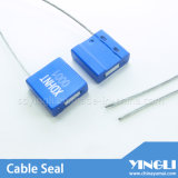 Selbst Locking Security Cable Seal mit Logo Serial Number (YL-HJ-B1.0)