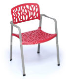 高品質の現代設計事務所のプラスチックスタッキングの椅子(HF-1003E32)