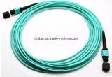 Цвет Aqua Patchcord волокна MPO/MTP Om3 50/125