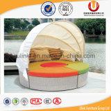 옥외 등나무 고리 버들 세공 이동할 수 있는 2단 침대 (UL-T82)