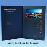 Nuovo saluto Card/LCD dell'affissione a cristalli liquidi 2016 che fa pubblicità al libro/video opuscolo