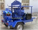 이동할 수 있는 디젤 엔진 - 몬 수도 펌프
