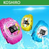 GPS imperméable à l'eau suivant le système de gosses pour le téléphone de montre