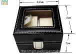 Caixa de relógio do couro da venda por atacado do produto 2015 novo