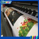 3.2m 큰 체재 Eco 광고를 위한 실내 옥외 잉크젯 프린터를 구르는 용해력이 있는 인쇄 기계 롤