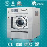 La machine utilisée industrielle de blanchisserie de feuille transporte en charrette le film publicitaire