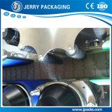 Botella redonda y tarro automáticos que colocan el equipo de etiquetado de la escritura de la etiqueta mojada del pegamento