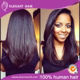Наградное качество Remy 100% Зажим-в выдвижениях волос