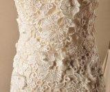 Nixe-Brautkleid-trägerlose Venedig-Spitze-Hochzeits-Kleider Z2061