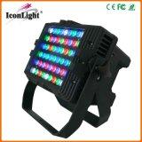 Arandela de la pared del poder más elevado 54*3W RGBW LED para la iluminación al aire libre