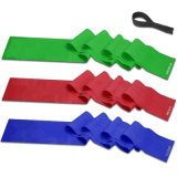 5 pies de Top Quality Flat Resistance Exercise Band para Stretching Yoga Pilates