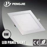 Ultra dünne 6W LED Instrumententafel-Leuchte (Quadrat)