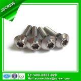 Abotoar o parafuso especial Torx principal do aço inoxidável
