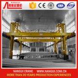 Grue de pont de anodisation en aluminium de double poutre