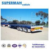 De Europa da carga reboque Flatbed amável do caminhão Semi