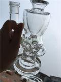 高く明確ですてきな卵のトルネードガラス管の配水管の軽打の装備
