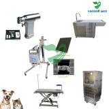 Yuesenmed Veterinärkrankenhaus-medizinischer Edelstahl-Haustier-Hunderahmen