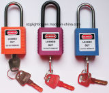Nylon Shackle를 가진 강철 Lockout Safety Series Padlock