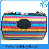 Fábrica do saco de portador do portador do curso do gato do cão da fonte do animal de estimação
