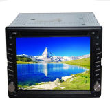 Dois DIN Car Universal DVD Player com GPS Navigation