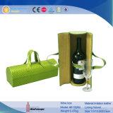 Portador de couro modelado Snakskin novo do vinho do plutônio do projeto (6135R12)