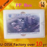 Mémoire par la carte de crédit de flash USB de glissière moyenne spéciale (YT-3111L)