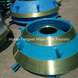 Peças elevadas do desgaste do manganês para o equipamento de mineração