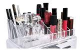 Акриловая косметическая индикация случая хранения состава и ювелирных изделий