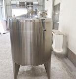 El tanque de mezcla vestido del doble del acero inoxidable