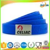 Bracelet coloré bon marché fait sur commande de claque de silicones