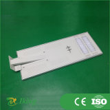 50W indicatore luminoso di via solare dell'alloggiamento di alluminio LED 120lm/W