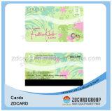Cartões plásticos do presente/cartões magnéticos/cartões da impressão